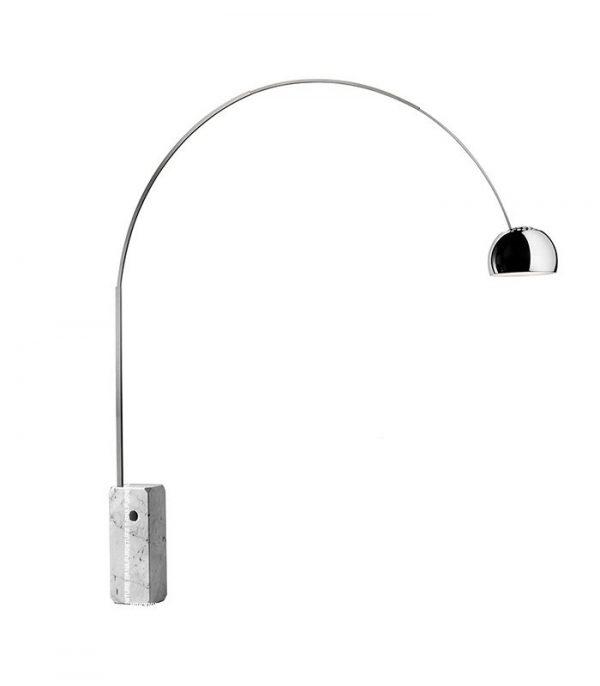 Flos-Arco-Style-Rectangular-Marble-Floor-Lamp