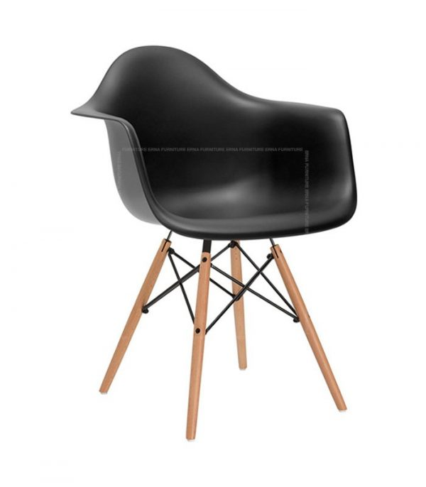 Charles-Ray-Eames-Style-DAW-Dining-Chair---ABS-Black
