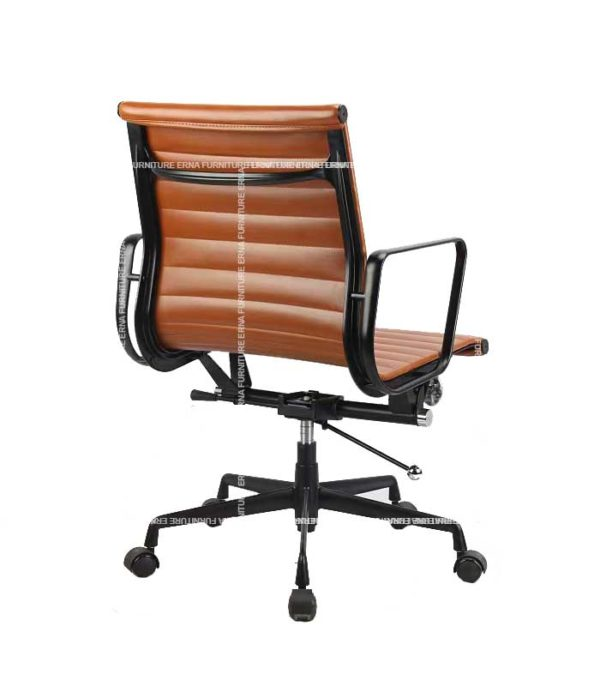 Eames Style Lowback Leather office Chair (5)