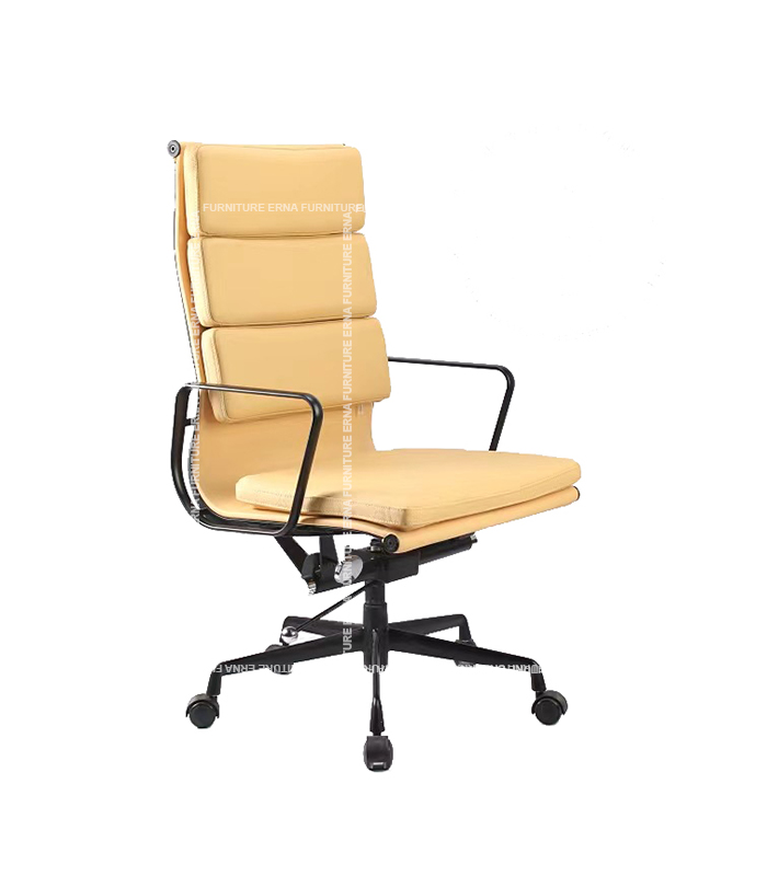 Eames Style Softpad Leather office Chair - High Back (1)