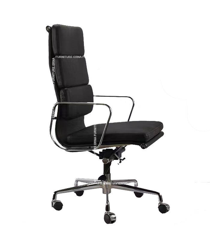 Eames Style Softpad Leather office Chair - High Back (2)