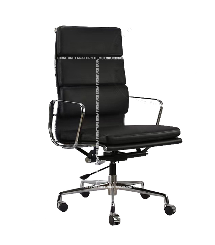 Eames Style Softpad Leather office Chair - High Back (4)