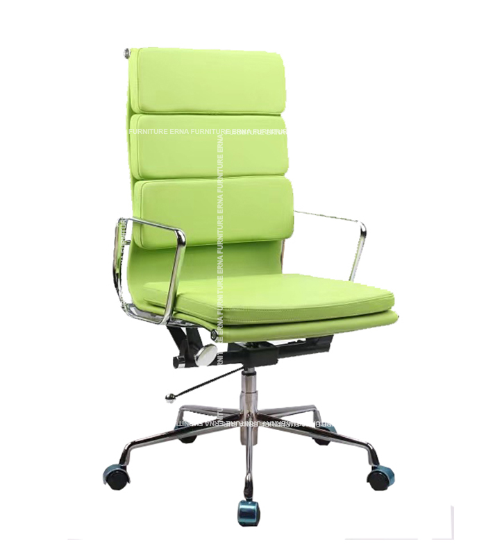 Eames Style Softpad Leather office Chair - High Back (5)