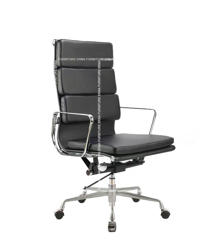 Eames Style Softpad Leather office Chair - High Back (9)