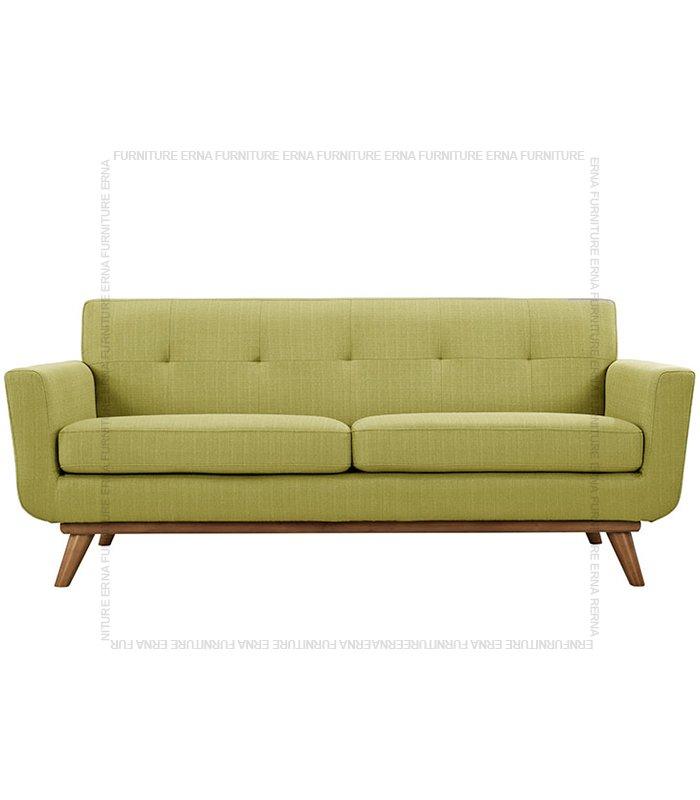 Kiruna 2 or 3 seater fabric sofa beige