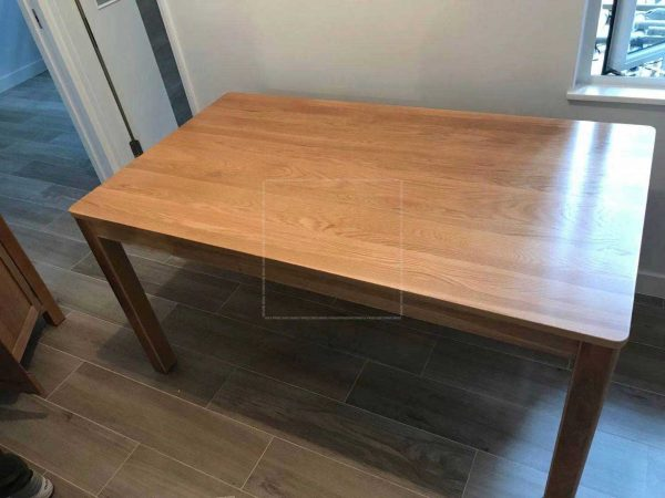 Nord Solid Oak Wood Dining Table