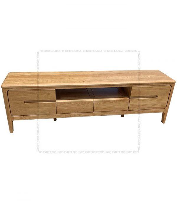 Celster Solid Oak Wood TV Cabinet (3)