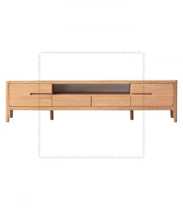 Celster Solid Oak Wood TV Cabinet