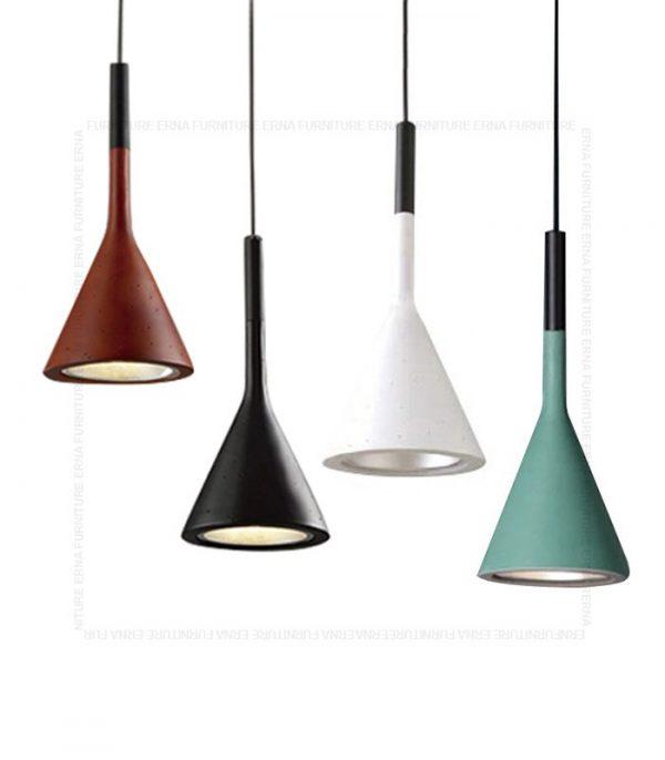 Concrete Style Pendant Lamp 4 colors