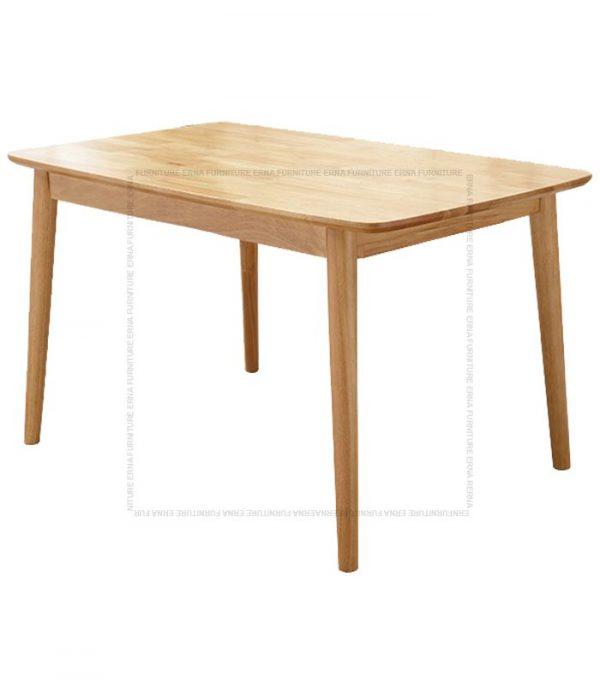 Deer Solid Oak Wood Rectangular shape Dining Table (2)