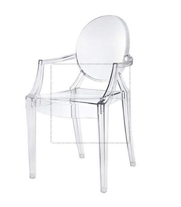 Kartell Louis Ghost Style Armchair Transparent Clear