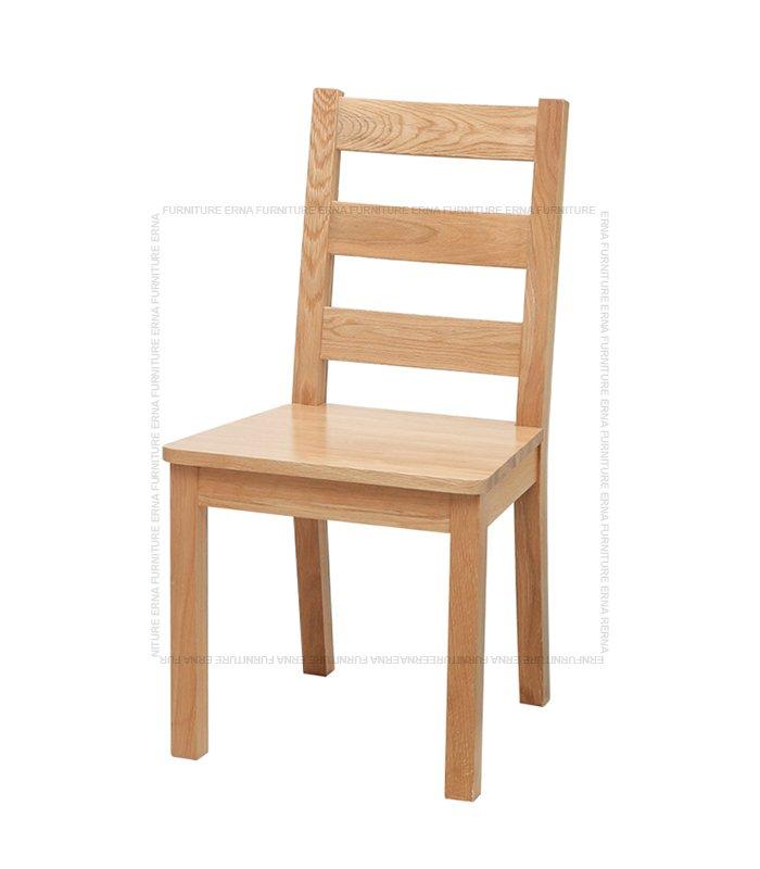 Malan Solid Oak Wood Dining Chair Oak