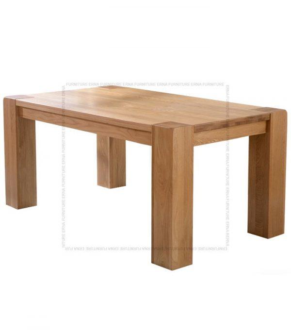 Malan Solid Oak Wood Dining Table