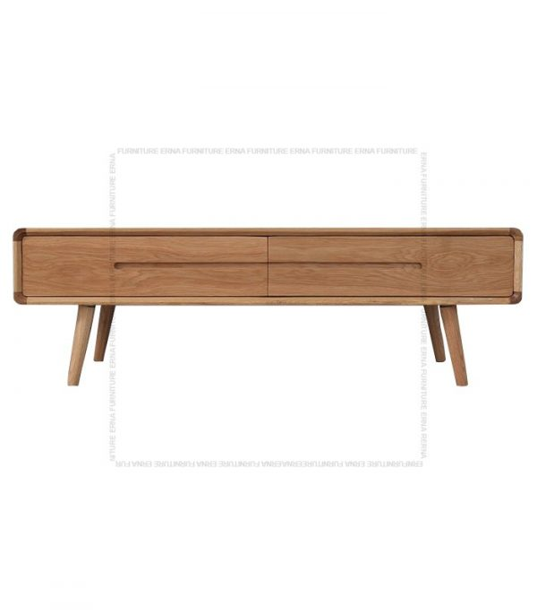 Modson Solid Oak Wood Coffee Table Oak