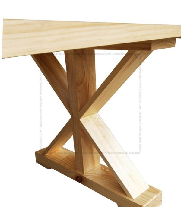 Orlando Country Style Recycled Elm Wood Dining Table Legs