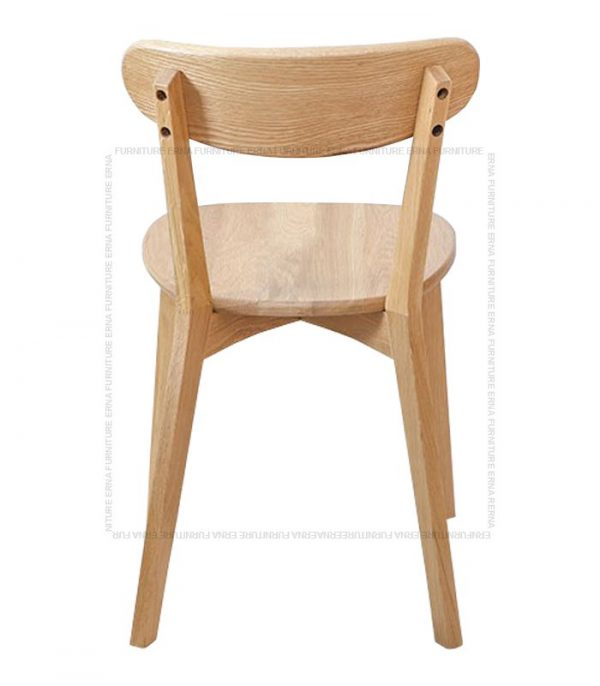 Traven Solid Oak Wood Dining Chair (1)