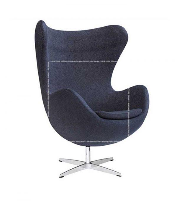 Arne-Jacobsen-Style-Fabric-Egg-Chair-Grey