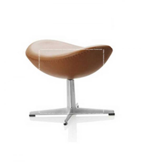 Arne-Jacobsen-Style-Leather-Lounge-chair-Ottoman