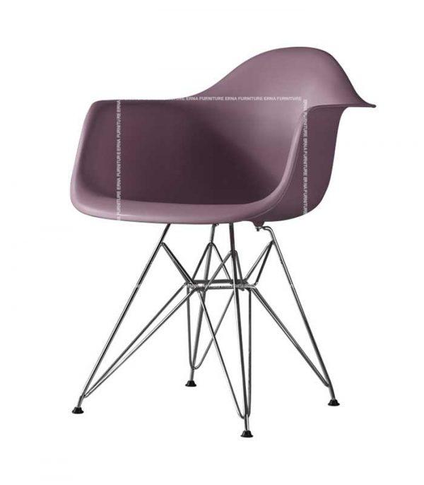 Charles-Eames-DAR-Style-Chair Purple