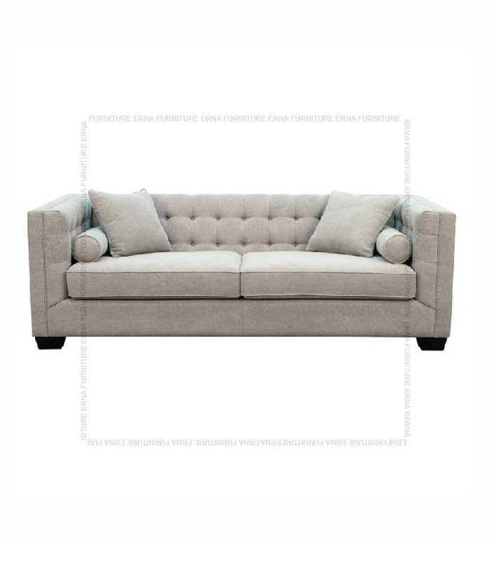 Visby Fabric Sofa 2 Seater