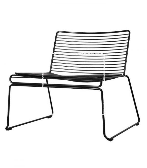 Hay-Hee-Style-Lounge-Chair-Black Hong Kong Furniture
