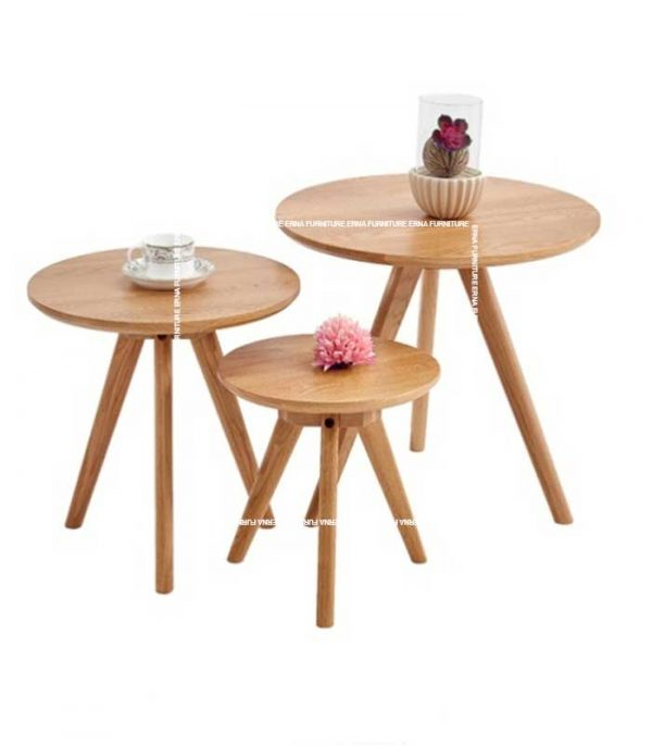 Pacific-Solid-Oak-Wood-Tri-End-Table-(1)