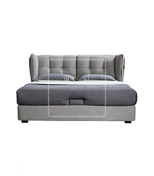 Simon Upholstered Bed Frame with Storage (4)