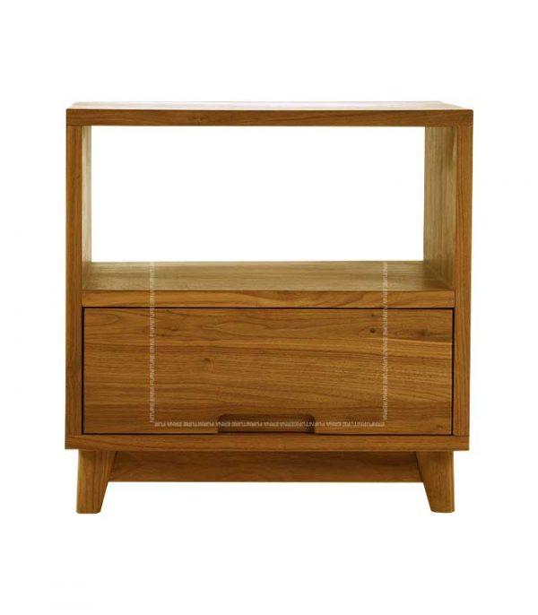 Donny Wood Side Table - Oak