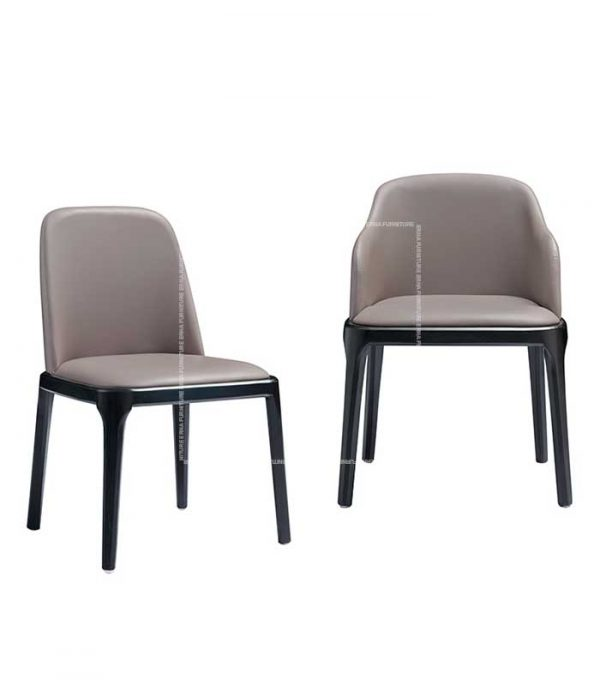 Grace Style Leather Dining Chair (4)