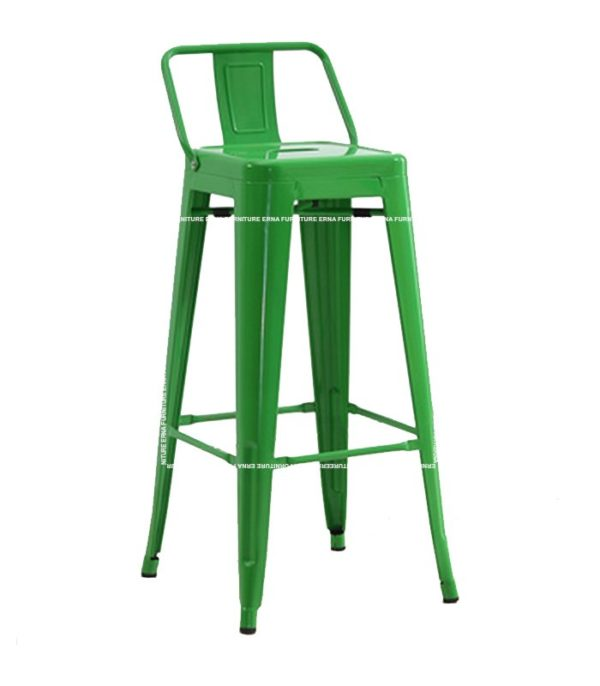 Tolix Stool with back (4)
