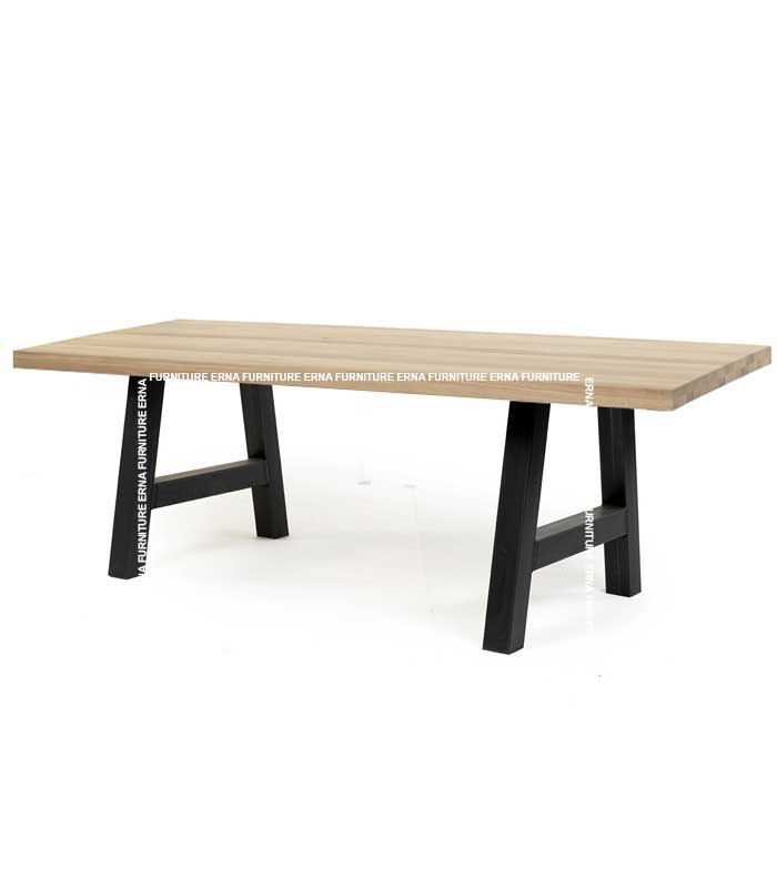 Orbey A-leg Style Wood Table (3)