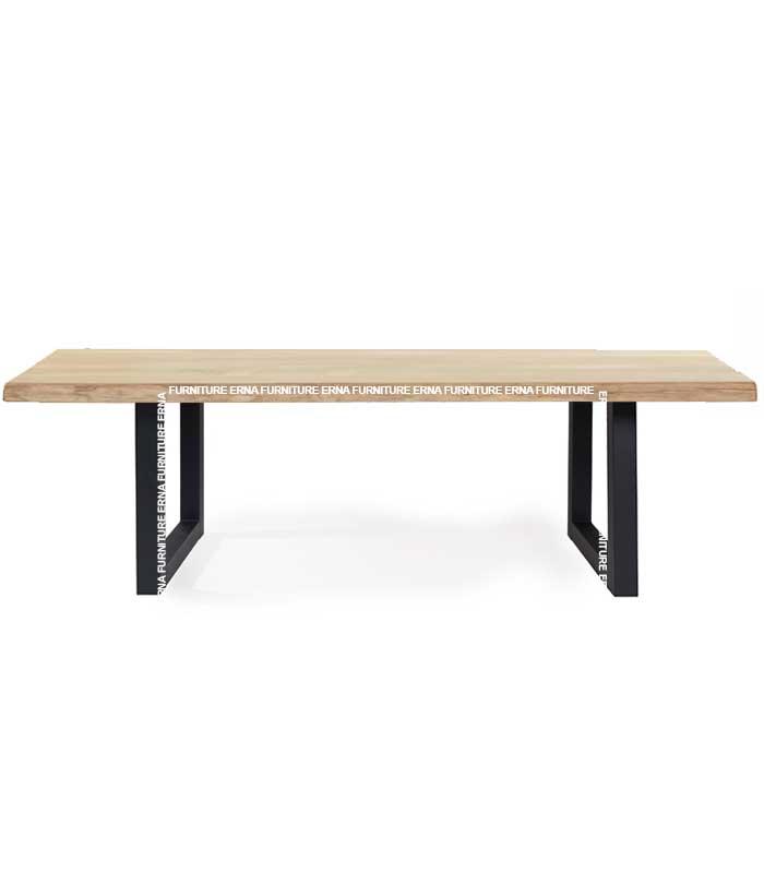 Unibar Industrial Style Wood Table (1)