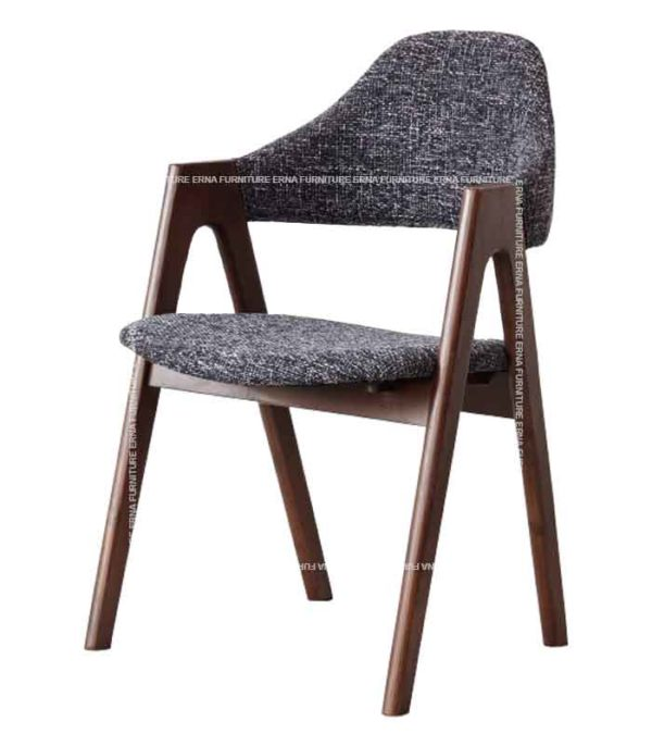 Brisbane Upholstered Solid Wood Dining Chair (2)