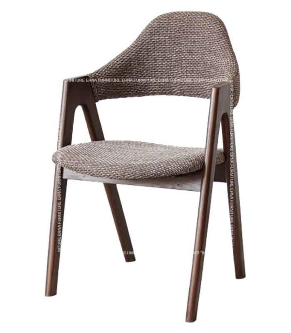 Brisbane Upholstered Solid Wood Dining Chair (3)