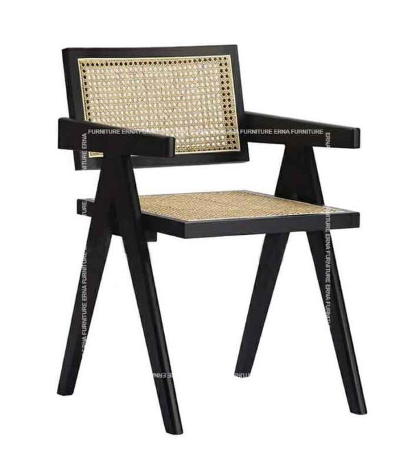 Chaitra CHD Indian Style Rattan Dining Chair (3)