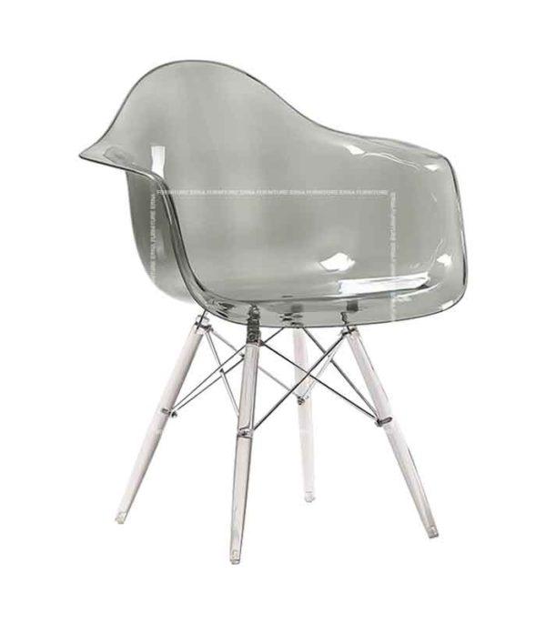 Eames-DAW-Style-Transparent-Chair---Clear-Legs
