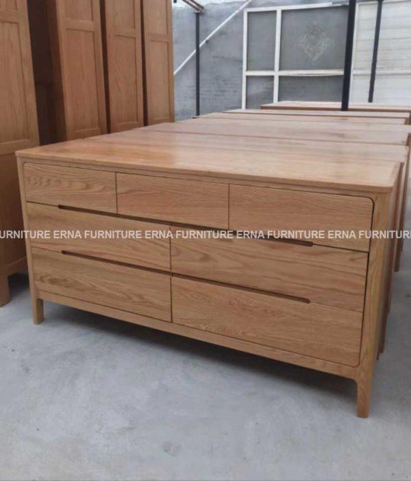 Anton-Solid-Oak-Wood-7-Drawers-Cabinet