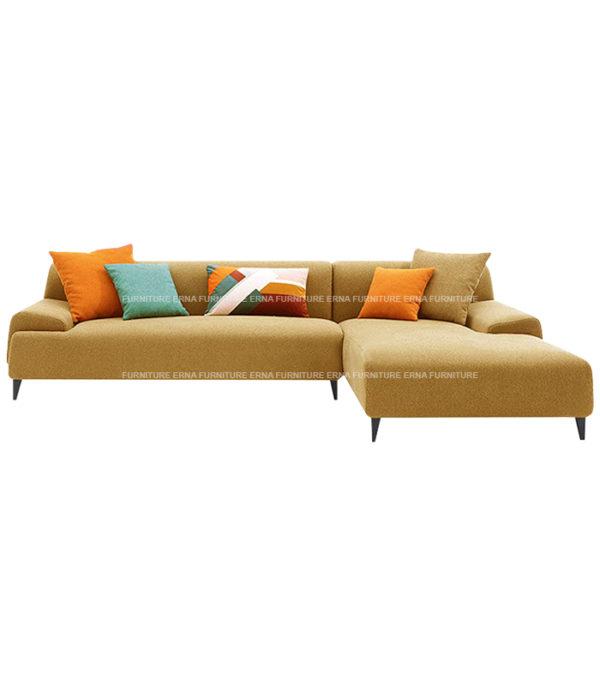 Louis L Shape Fabric Sofa (2)