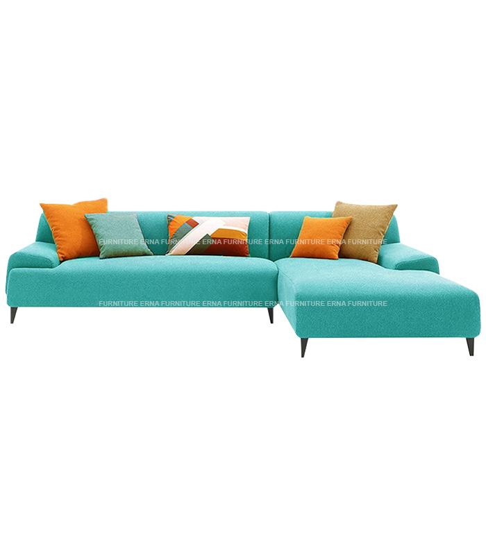 Louis L Shape Fabric Sofa (4)